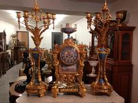 large clockset